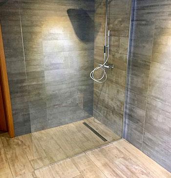 FD Rénovation - Aménageùent de douche à l'italienne